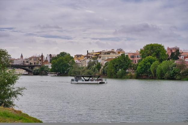 Miasto sewilli. hiszpania
