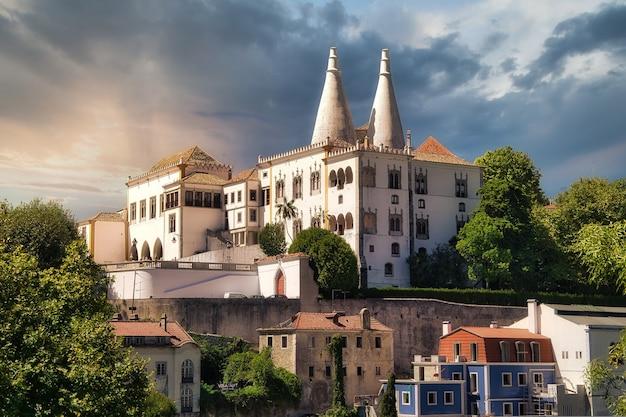 Miasto sintra, portugalia