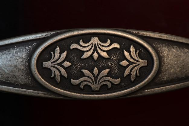 Miedziany detal i dekoracja
