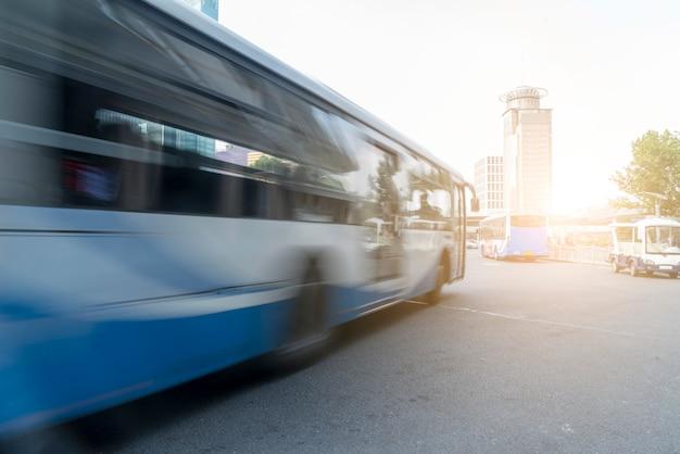 Miejski ruch drogowy