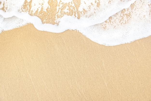 Miękka fala morza na piaszczystej plaży?