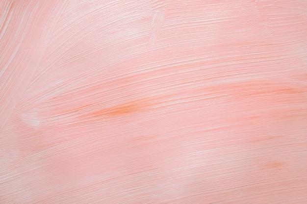 Miękka różowa farba w teksturze