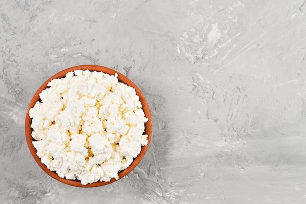 Miękki twaróg naturalna zdrowa żywność, pełnowartościowa żywność dietetyczna