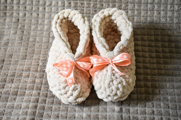 Miękkie piękne ręcznie robione buty damskie
