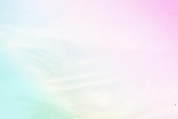 Miękkie pochmurno jest pastelowych gradientów, abstrakcyjne tło nieba w słodkim kolorze.