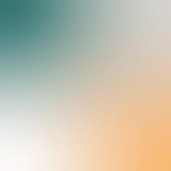 Miękkie streszczenie tło gradientowe. kolorowe tło płynące. ciemnozielony i pomarańczowy stonowany kolor. kwadrat