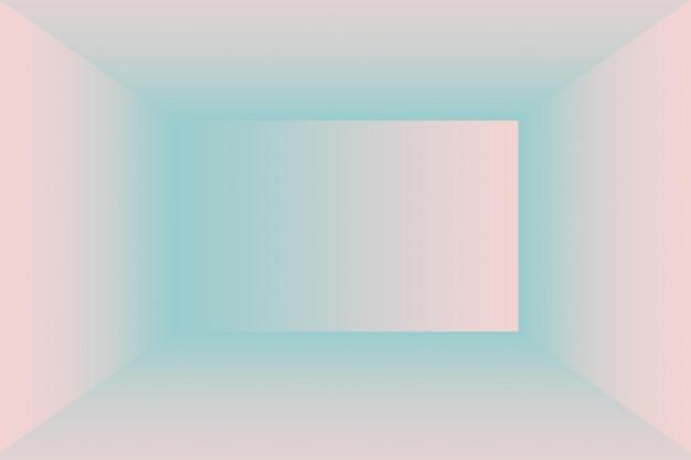 Miękkie, vintage, gradientowe rozmycie tła z pastelowym kolorem dobrze sprawdza się jako pokój studyjny, prezentacja produktu i baner