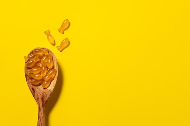 Miękkie żelowe kapsułki z olejem z wątroby dorsza