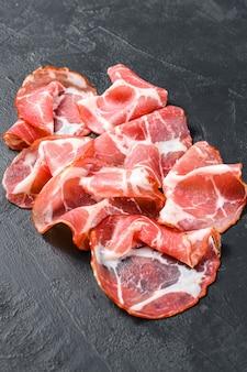 Mięso coppa, capocollo, capicollo