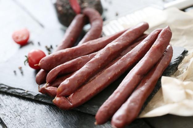 Mięso z pomidorami i przyprawami