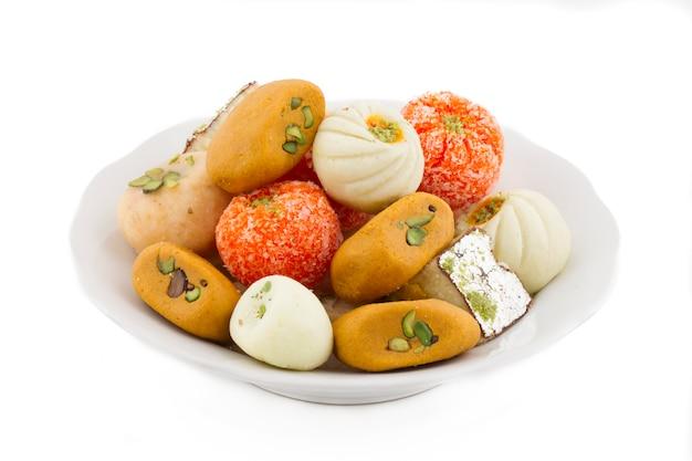 Mieszanka indyjska słodkie jedzenie