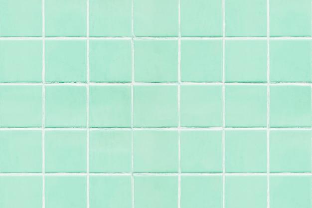Miętowe zielone płytki teksturowane tło