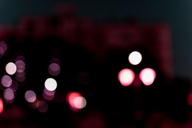 Migające podświetlane tła światła