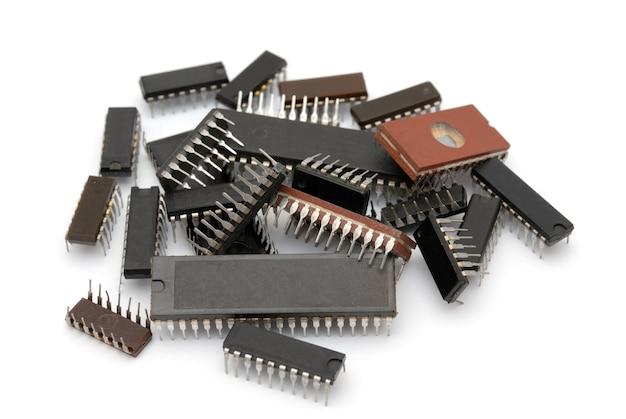 Mikrochipy stosowane w produkcji komputerów