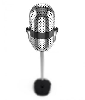 Mikrofon odizolowywający na bielu
