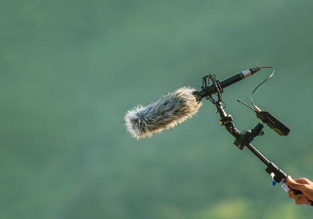 Mikrofon rejestratora dźwięku