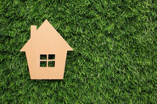 Miniaturowy dom z kreskówek