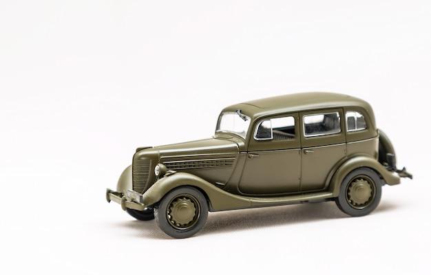 Miniaturowy model rosyjskiego samochodu
