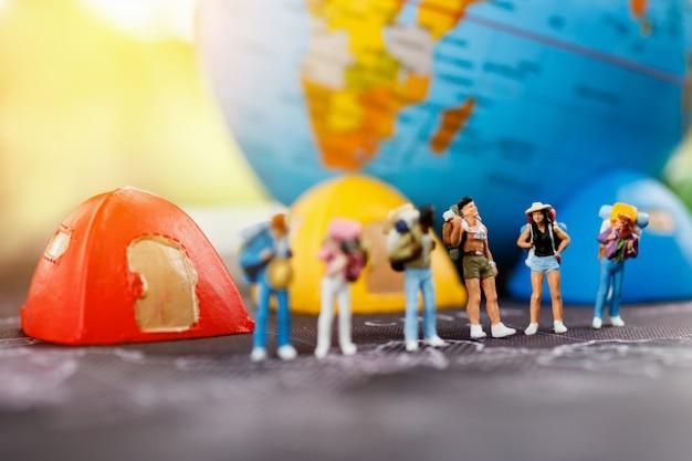 Miniaturowy turysta