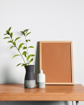 Minimalistyczny design biurka