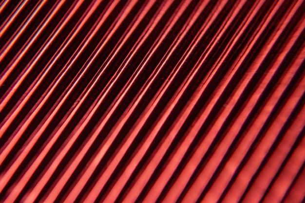 Minimalizm marszczenia. papier falisty metalizowany z bliska.