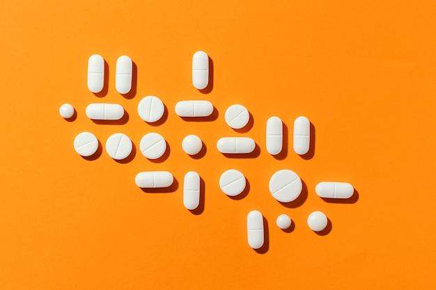 Minimalne rozmieszczenie tabletek leczniczych