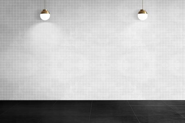 Minimalny pusty pokój autentyczny wystrój wnętrz