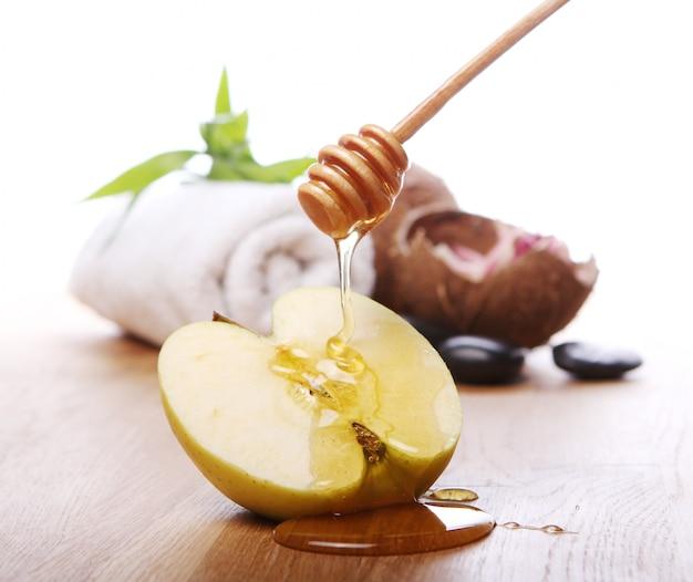 Miód i jabłko