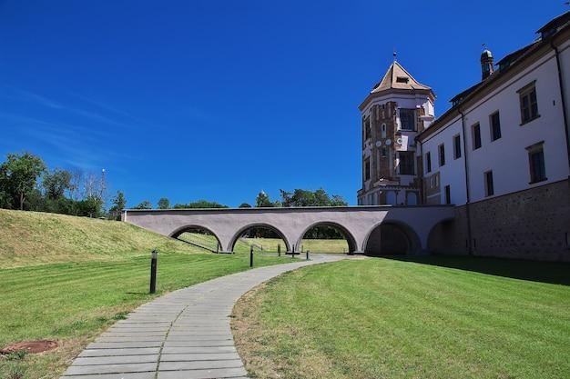 Mir castle w kraju białorusi
