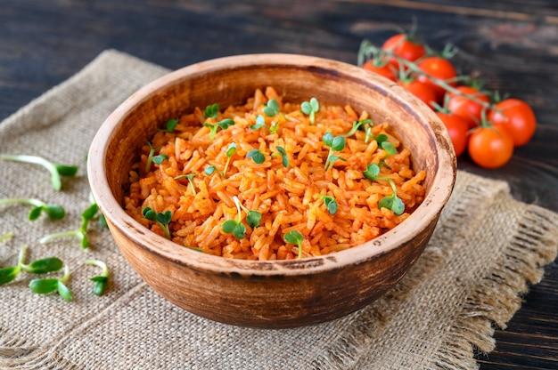 Miska meksykańskiego ryżu
