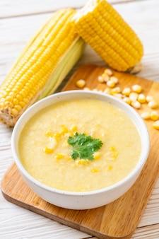 Miska na zupę kukurydzianą