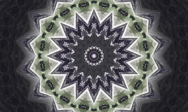 Mistyczny szary marmur kalejdoskop na niebieskim tle. malarstwo abstrakcyjne linie. marmurowe akwarele. kolor srebrnego kalejdoskopu. biały witraż art. marmurowa tekstura. farba mieszana