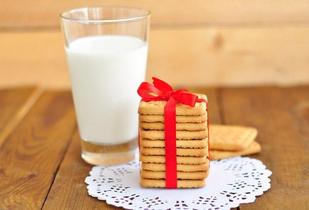 Mleko i ciastka