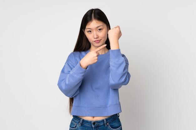 Młoda azjatycka kobieta