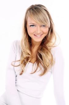 Młoda i piękna caucasian kobieta
