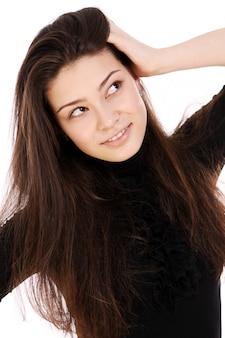 Młoda i piękna kobieta