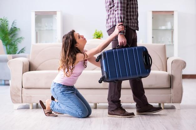 Młoda rodzina w koncepcji zerwanego związku