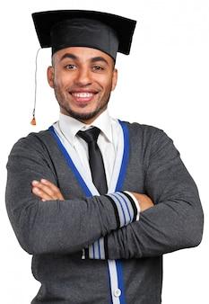 Młody absolwent