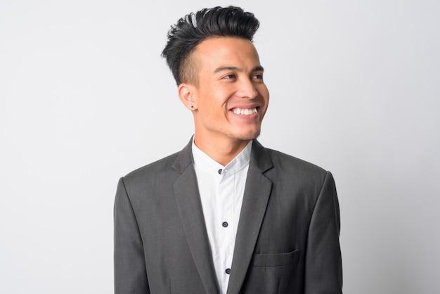 Młody biznesmen azjatyckich w garniturze