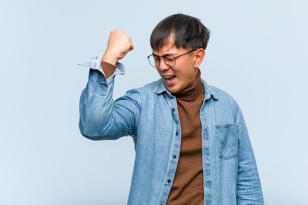 Młody chińczyk, który się nie poddaje