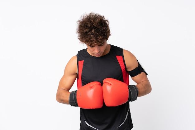 Młody człowiek sportu