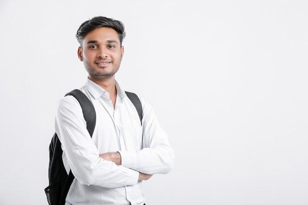 Młody indyjski student z indii