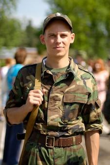 Młody żołnierz