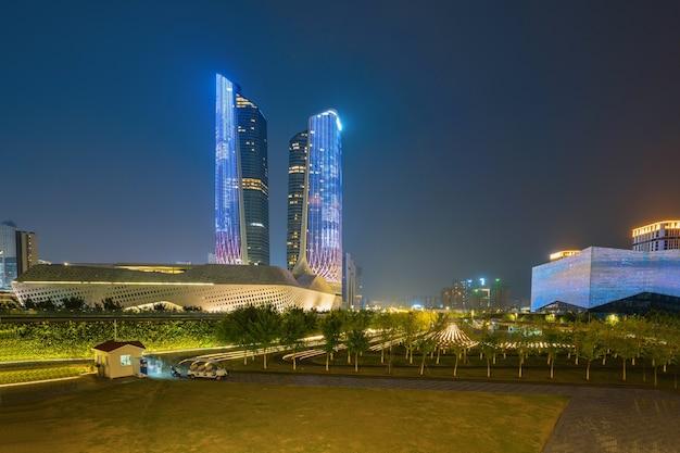 Młodzieżowe centrum olimpijskie nanjing w chinach