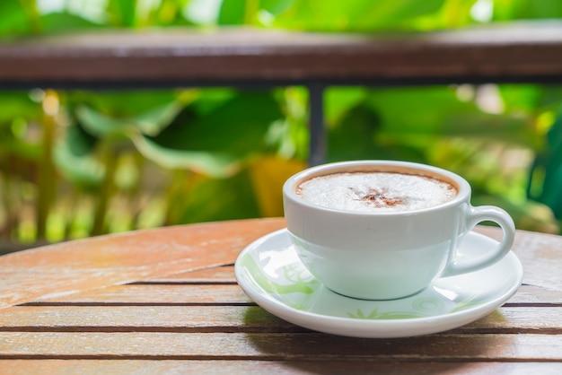 Mocca w kawiarni