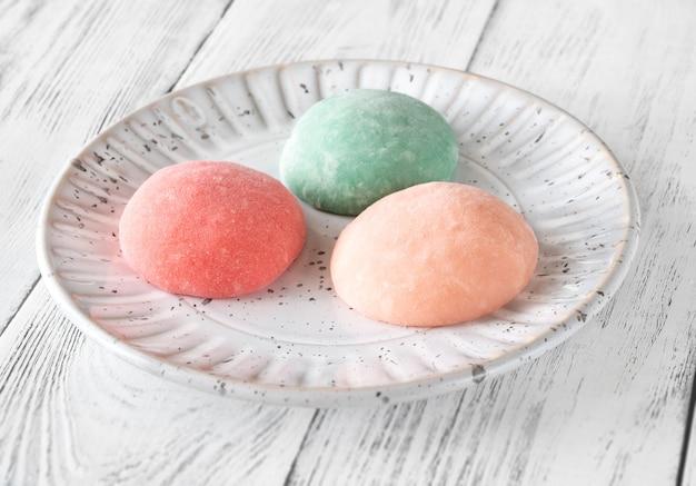 Mochi - japoński placek ryżowy