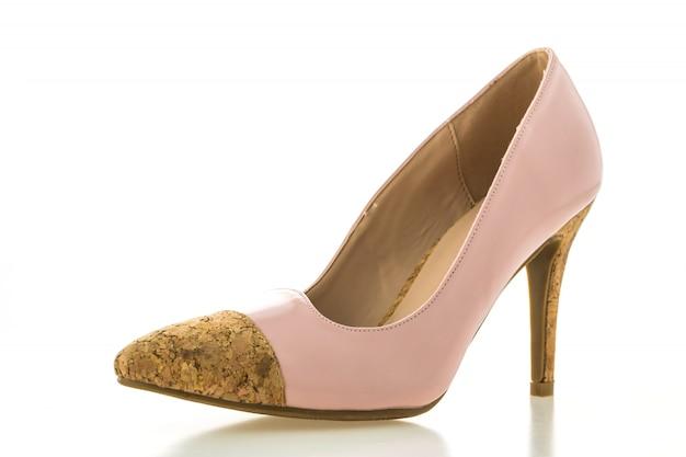 Moda różowy glamour kobiet obcasy