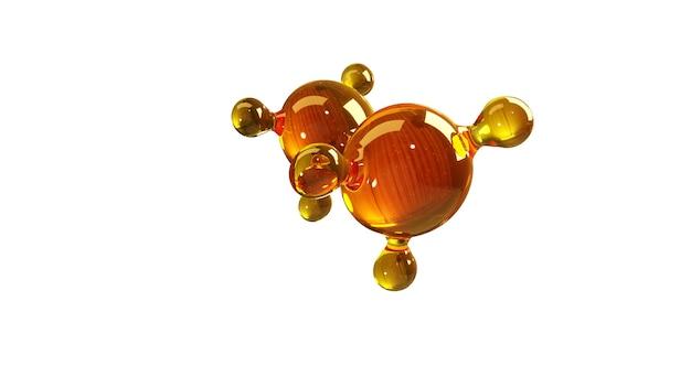 Model wyizolowanej cząsteczki