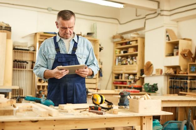 Modern senior carpenter