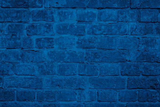 Modna tekstura niebieski mur z cegły